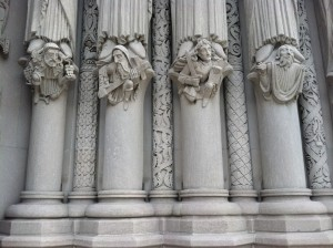 columns on Riverside Chuch