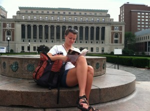 Emma by library in Columbia