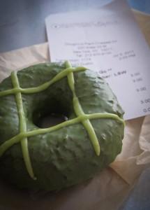Green Tea Doughnut at Doughnut Plant