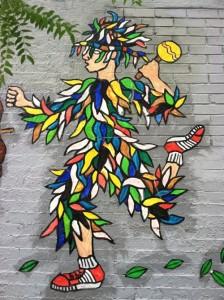 graffiti in Sanish Harlem