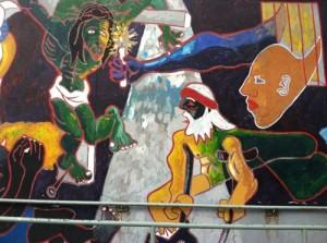 graffiti in Harlem