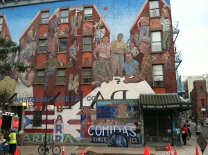graffiti in NYC Harlem