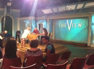 TV studio set of The View