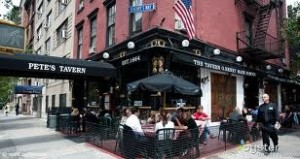 petes tavern in gramercy park