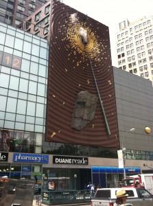 art installation at Union Square